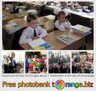 Image bank tOrange offers free photos from the section:  1-september-day-knowledge