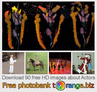 Image bank tOrange offers free photos from the section:  actors