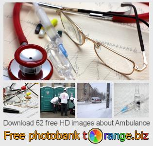 Image bank tOrange offers free photos from the section:  ambulance
