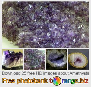Image bank tOrange offers free photos from the section:  amethysts