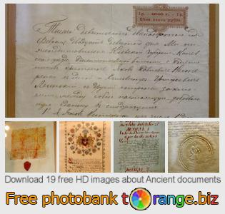 Image bank tOrange offers free photos from the section:  ancient-documents