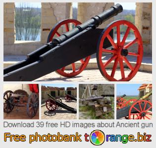 images free photo bank tOrange offers free photos from the section:  ancient-gun
