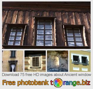 images free photo bank tOrange offers free photos from the section:  ancient-window