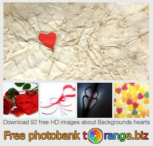 images free photo bank tOrange offers free photos from the section:  backgrounds-hearts