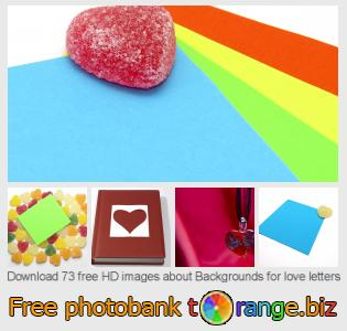 Image bank tOrange offers free photos from the section:  backgrounds-love-letters