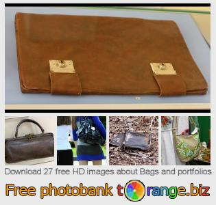 images free photo bank tOrange offers free photos from the section:  bags-portfolios