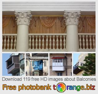 images free photo bank tOrange offers free photos from the section:  balconies
