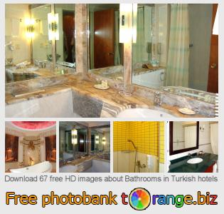Image bank tOrange offers free photos from the section:  bathrooms-turkish-hotels
