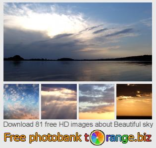 Image bank tOrange offers free photos from the section:  beautiful-sky