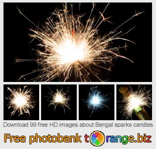 images free photo bank tOrange offers free photos from the section:  bengal-sparks-candles