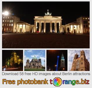 images free photo bank tOrange offers free photos from the section:  berlin-attractions