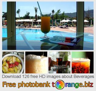 Image bank tOrange offers free photos from the section:  beverages