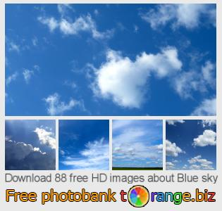 images free photo bank tOrange offers free photos from the section:  blue-sky