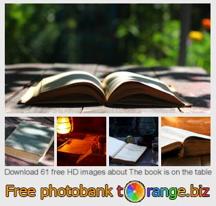 Image bank tOrange offers free photos from the section:  book-table