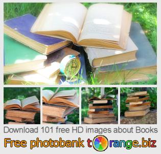 Image bank tOrange offers free photos from the section:  books