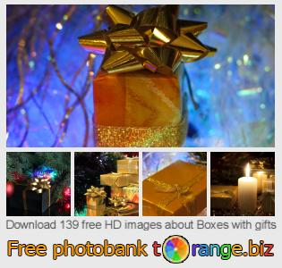 Image bank tOrange offers free photos from the section:  boxes-gifts
