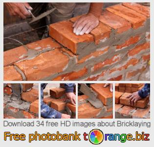 images free photo bank tOrange offers free photos from the section:  bricklaying