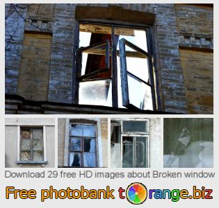 Image bank tOrange offers free photos from the section:  broken-window