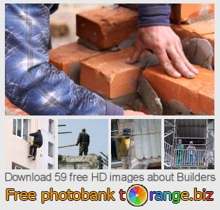 images free photo bank tOrange offers free photos from the section:  builders