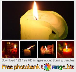 Image bank tOrange offers free photos from the section:  burning-candles