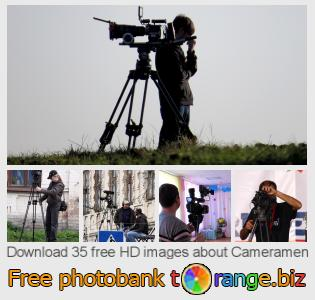 Image bank tOrange offers free photos from the section:  cameramen
