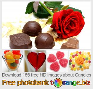 Image bank tOrange offers free photos from the section:  candies