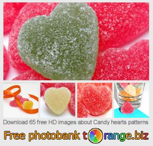 Image bank tOrange offers free photos from the section:  candy-hearts-patterns