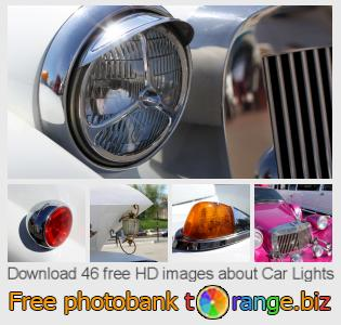 Image bank tOrange offers free photos from the section:  car-lights