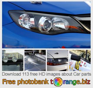 Image bank tOrange offers free photos from the section:  car-parts