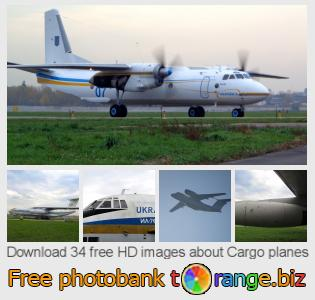 images free photo bank tOrange offers free photos from the section:  cargo-planes