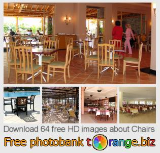 Image bank tOrange offers free photos from the section:  chairs