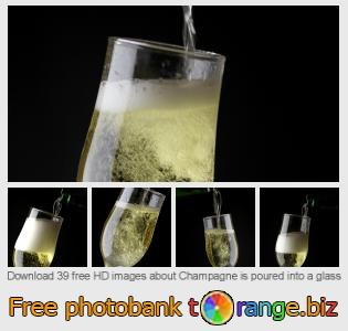 images free photo bank tOrange offers free photos from the section:  champagne-poured-glass