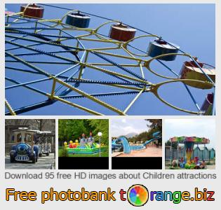 Image bank tOrange offers free photos from the section:  children-attractions