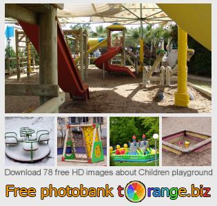 Image bank tOrange offers free photos from the section:  children-playground