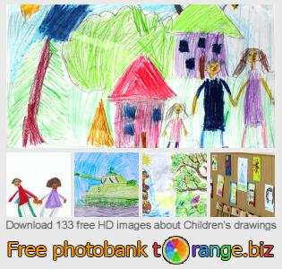 Image bank tOrange offers free photos from the section:  childrens-drawings
