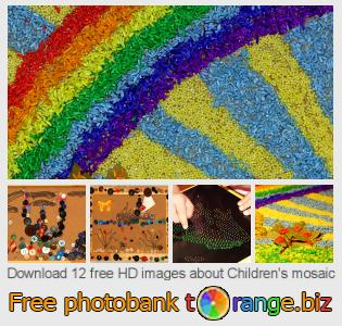 Image bank tOrange offers free photos from the section:  childrens-mosaic