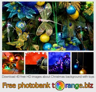 images free photo bank tOrange offers free photos from the section:  christmas-background-toys
