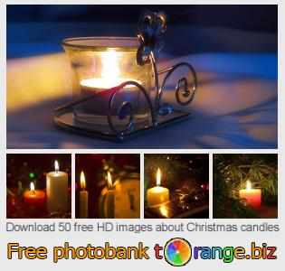 images free photo bank tOrange offers free photos from the section:  christmas-candles