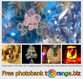 images free photo bank tOrange offers free photos from the section:  christmas-decorations-handcrafted