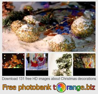 Image bank tOrange offers free photos from the section:  christmas-decorations
