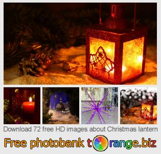 Image bank tOrange offers free photos from the section:  christmas-lantern