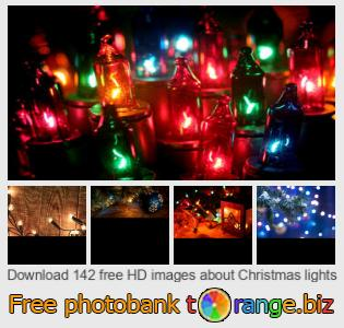 Image bank tOrange offers free photos from the section:  christmas-lights