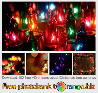 Image bank tOrange offers free photos from the section:  christmas-tree-garlands