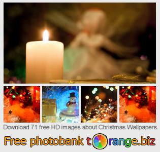 Image bank tOrange offers free photos from the section:  christmas-wallpapers
