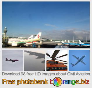 images free photo bank tOrange offers free photos from the section:  civil-aviation
