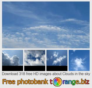 images free photo bank tOrange offers free photos from the section:  clouds-sky