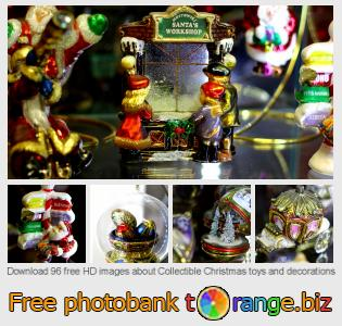 Image bank tOrange offers free photos from the section:  collectible-christmas-toys-decorations