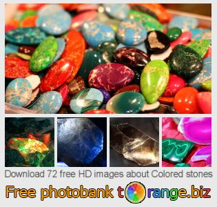 Image bank tOrange offers free photos from the section:  colored-stones