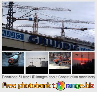 images free photo bank tOrange offers free photos from the section:  construction-machinery