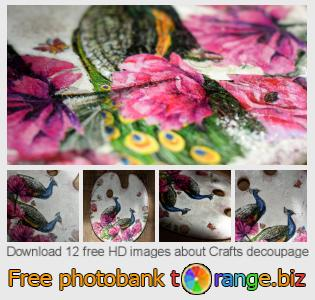 images free photo bank tOrange offers free photos from the section:  crafts-decoupage